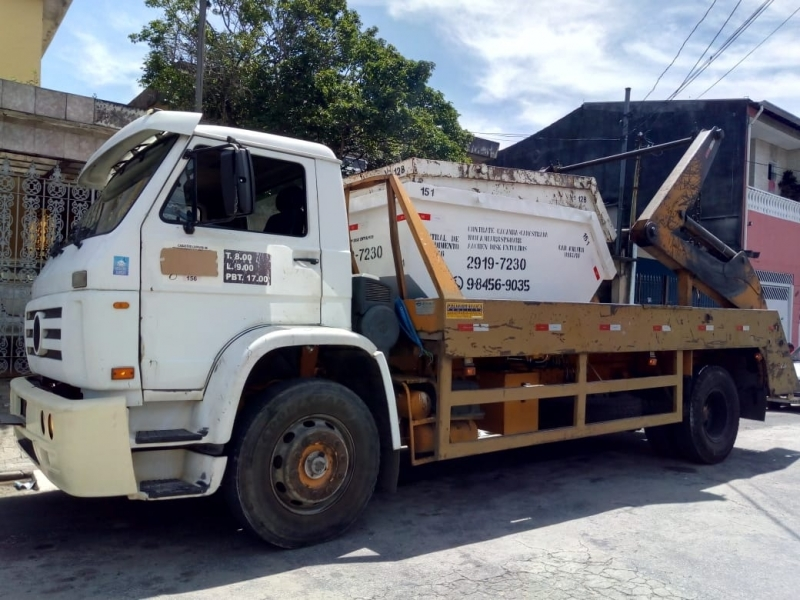 Alugar Caçamba para Condominio Guaianases - Alugar Caçamba Construção Civil