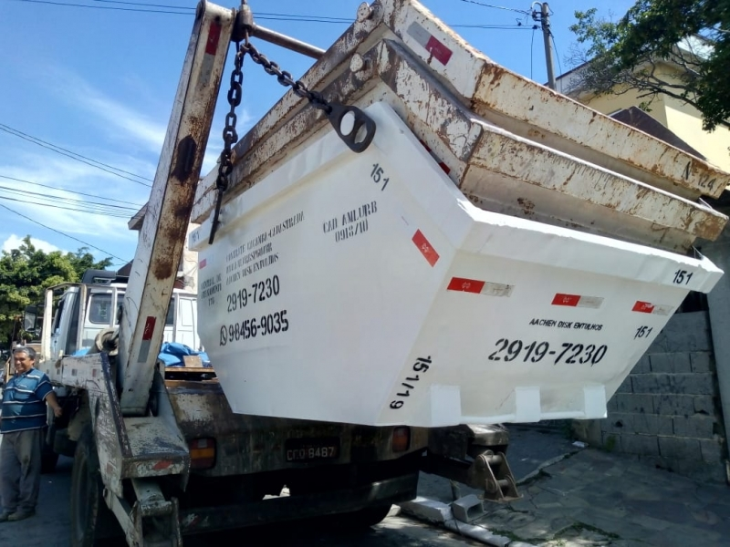 Alugar Caçamba para Construção Civil Itaquera - Alugar Caçamba para Condominio