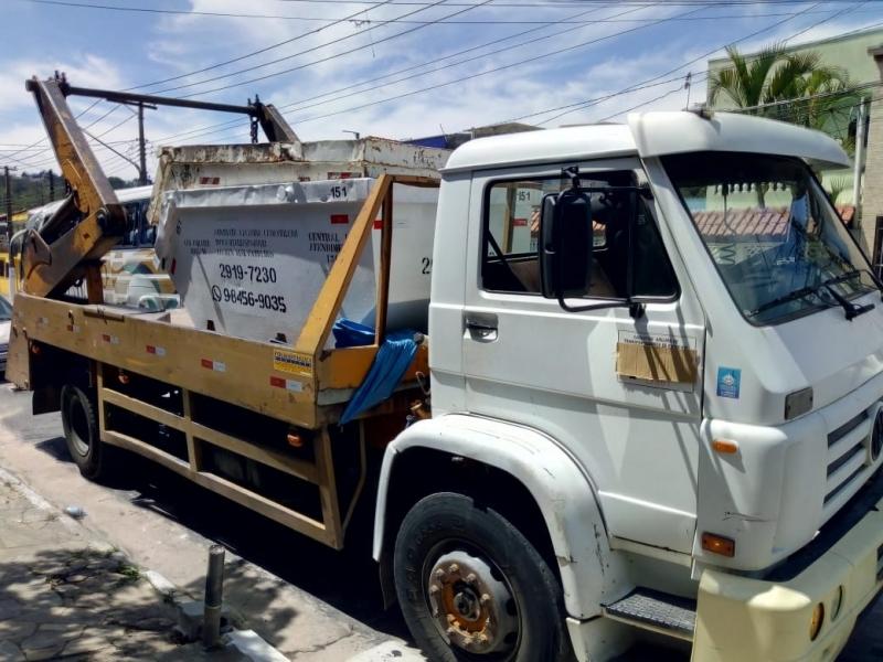 Aluguel de Caçamba para Entulho Aricanduva - Aluguel de Caçamba para Obra
