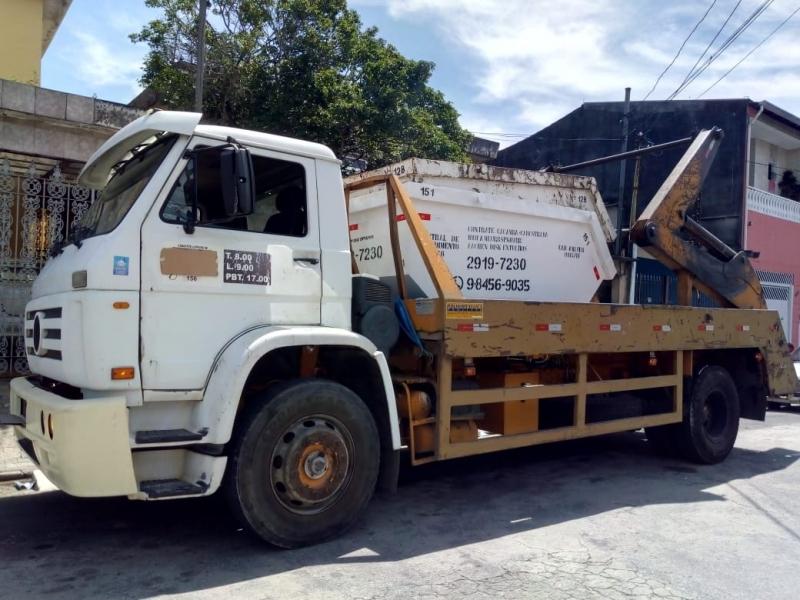 Empresa de Caçamba para Coleta de Entulho Vila Matilde - Empresa de Caçamba Construção Civil