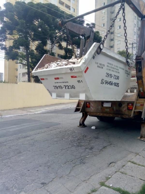 Empresa de Caçamba para Entulho Sapopemba - Empresa de Caçamba para Construção Civil