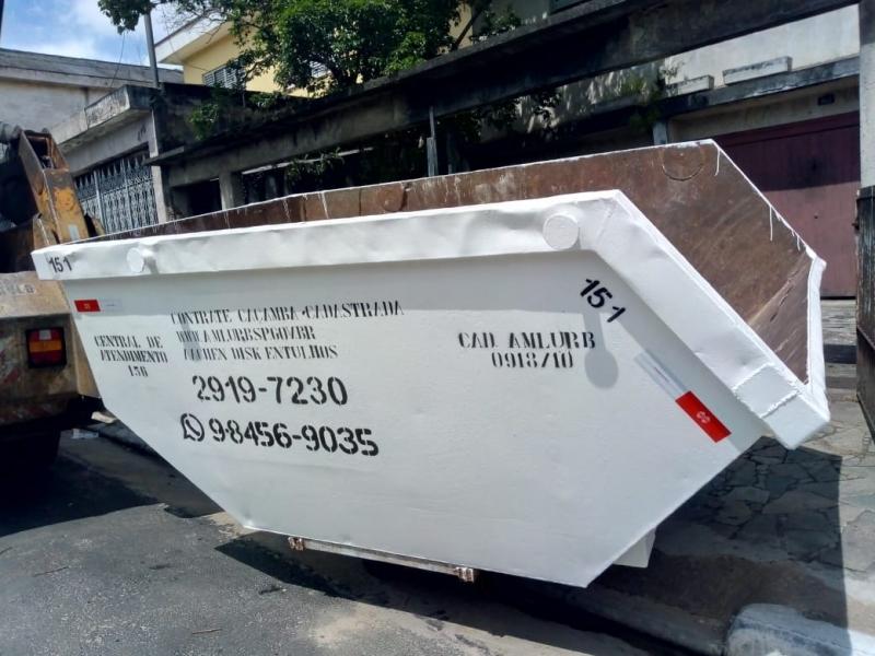 Onde Faz Locação de Caçamba de Construção Civil Guaianazes - Locação de Caçamba Construção Civil