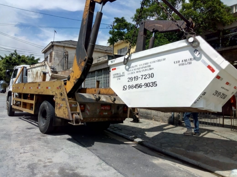 Onde Faz Locação de Caçamba para Construção Civil Guaianazes - Locação de Caçamba de Condomínio