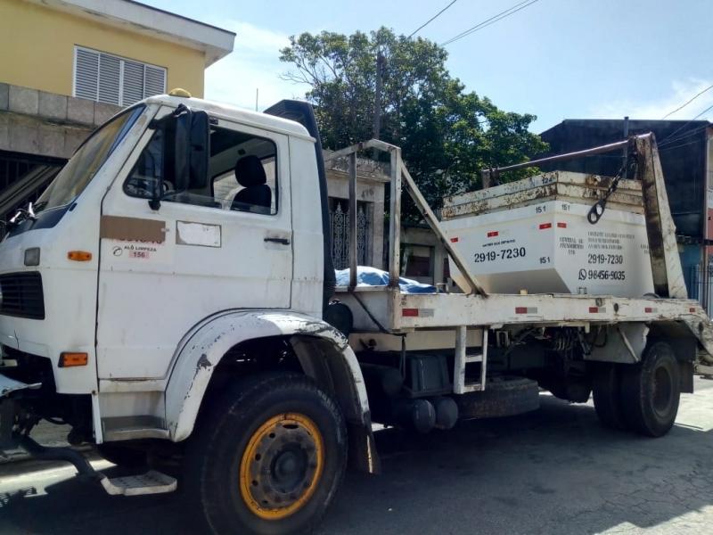 Onde Tem Aluguel de Caçamba para Obra Vila Esperança - Aluguel de Caçamba de Entulho