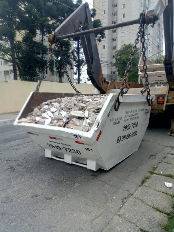 Remoção de Caçamba para Condomínio Cidade Líder - Remoção de Entulhos com Caminhão