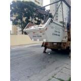aluguel de caçamba construção civil Parque São Jorge