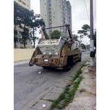 onde encontrar remoção de caçamba para condomínio Parque São Lucas