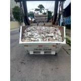 remoção de entulho de obra Parque São Jorge
