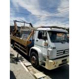 remoção de entulhos com caminhão Parque São Rafael