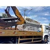 remoção de entulhos com caminhão